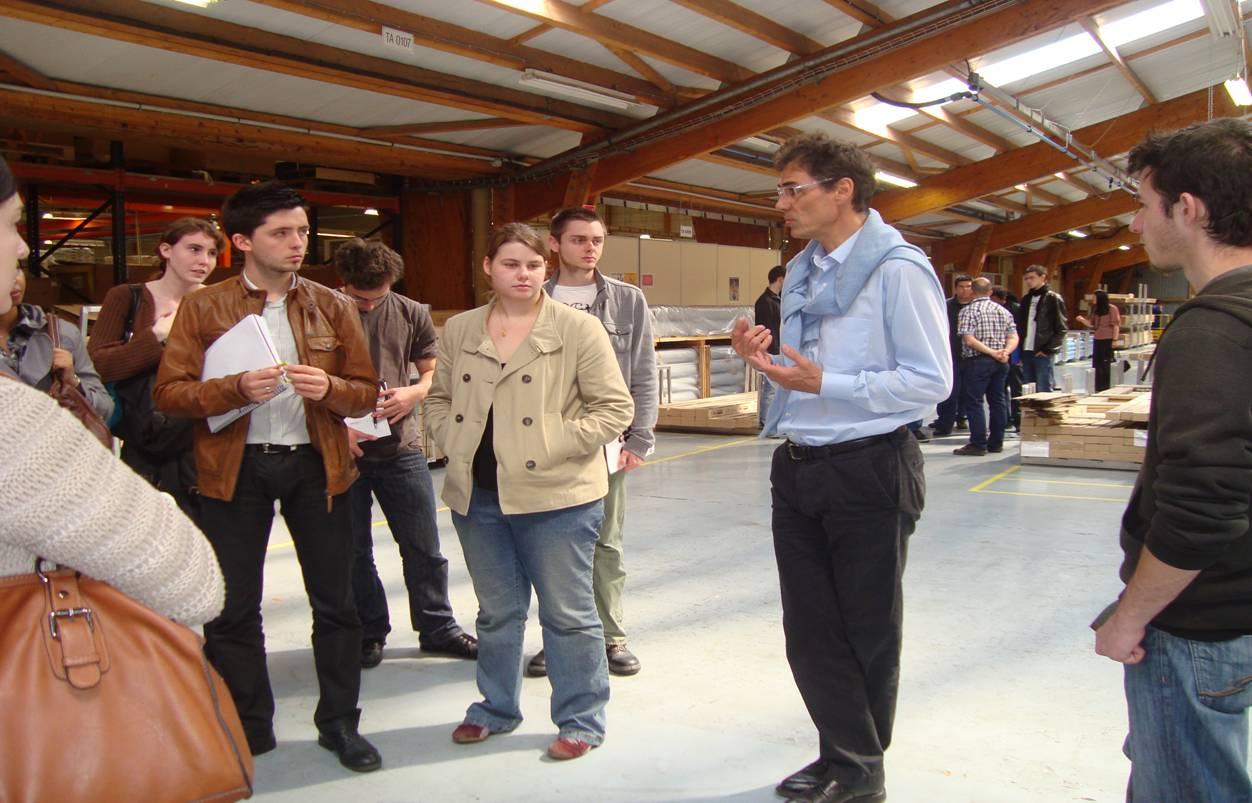 Visite hangar