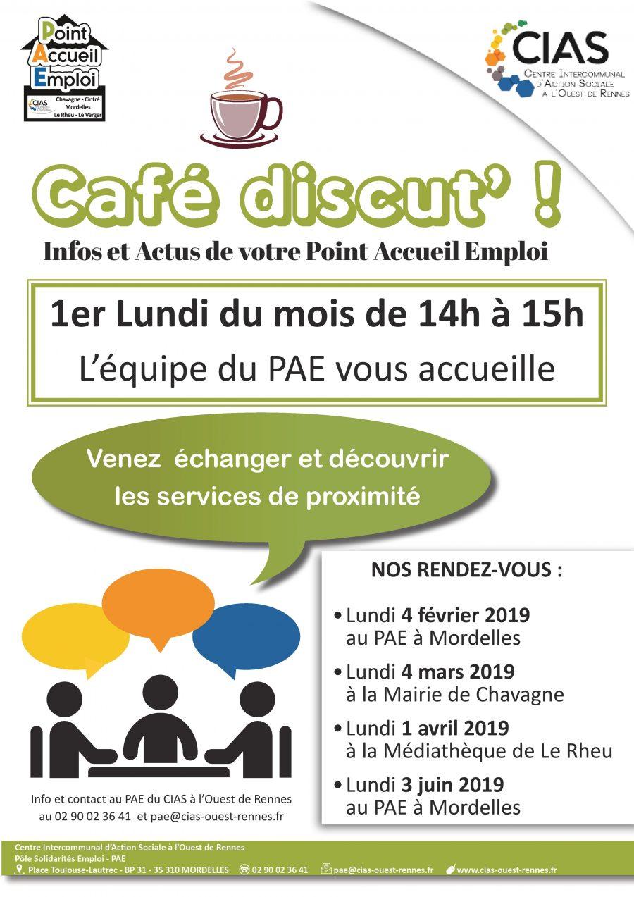 Affiche Café discut 2019 programmation