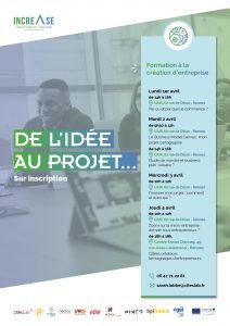 Programme increase de l'idée au projet