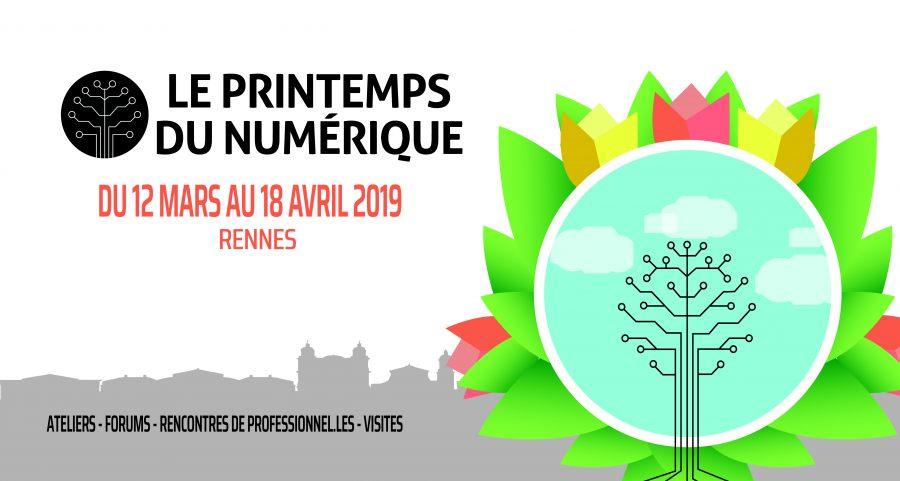 Visuel Printemps du Numérique 2019