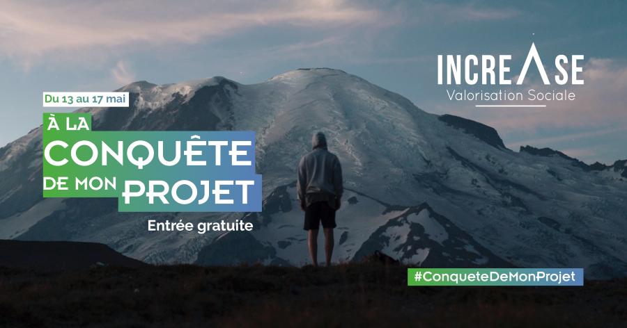 Visuel Web Increase À la conquête de mon projet